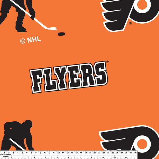 Philadelphia Flyers - NHL Fleece Print - Logo
