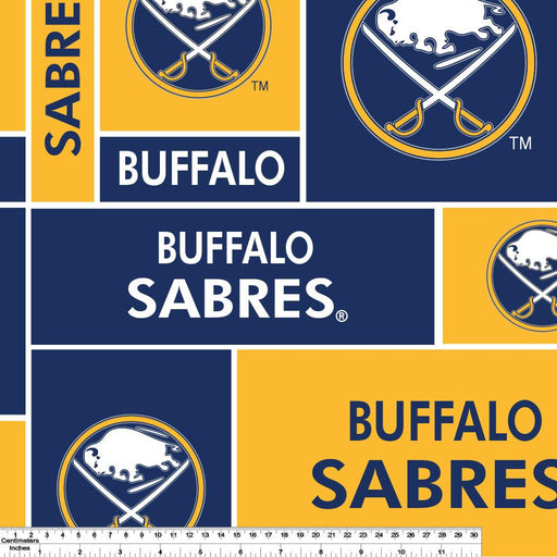 Buffalo Sabres - NHL Fleece Print - Patchwork