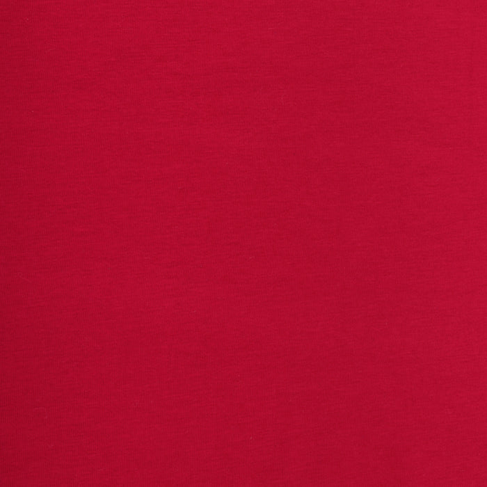ORGANIC Cotton Lycra Solid Knit - Red