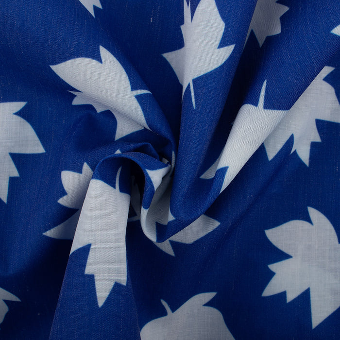 Patriotic prints - Maple leaf - Blue