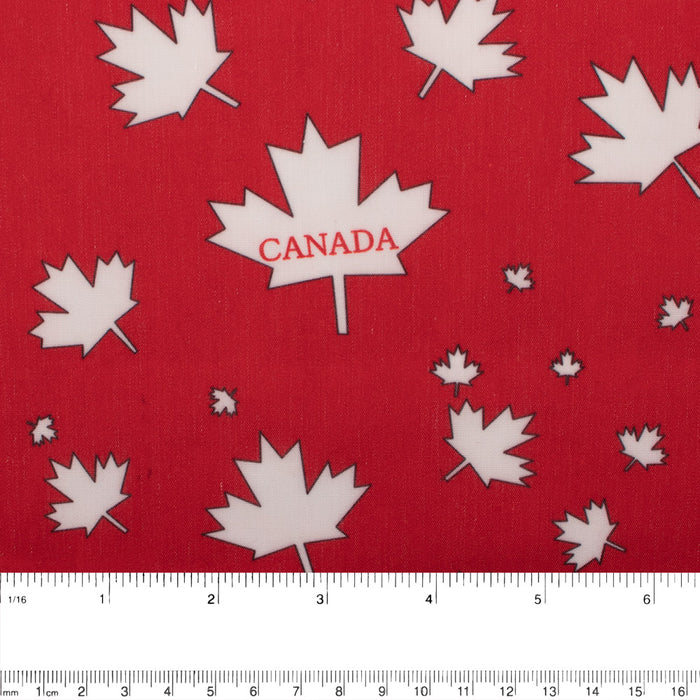 Patriotic prints - Canada - Red
