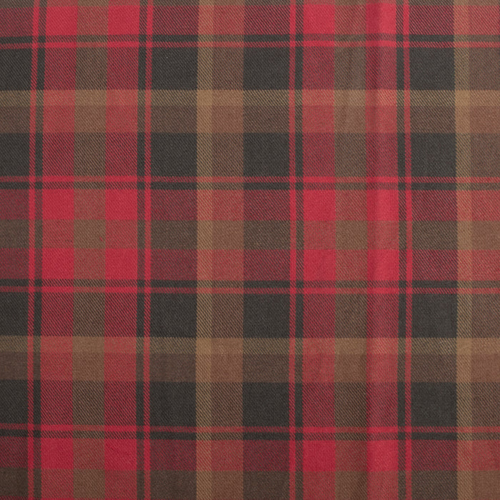 Tartan Suiting - Canadian maple leaf