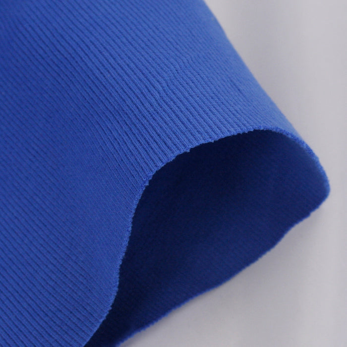 2 x 2 Rib Tubular Knit - Royal Blue
