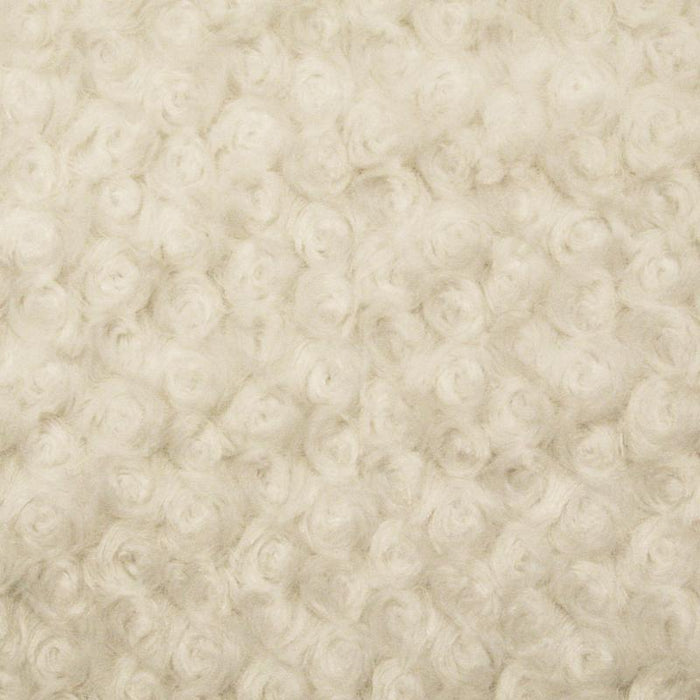 Cabbage Rose Fur - Cream