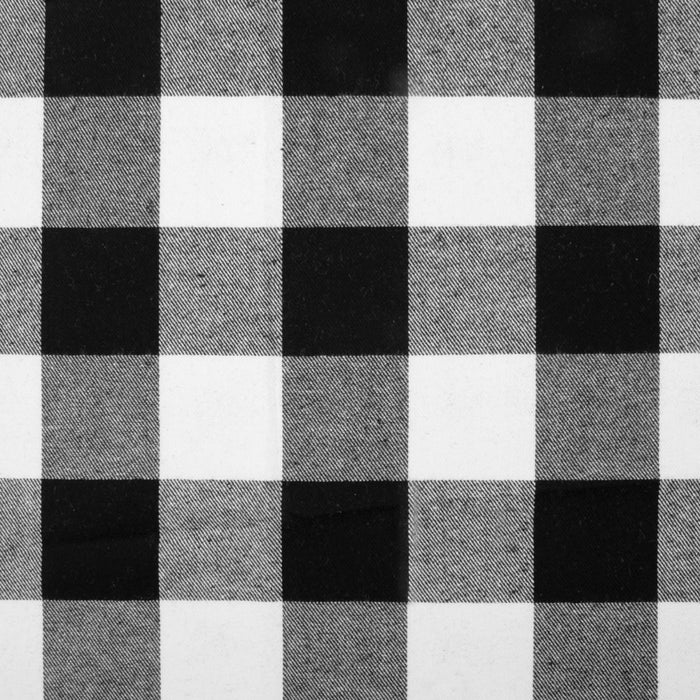 LONDON - Brushed Plaid - White