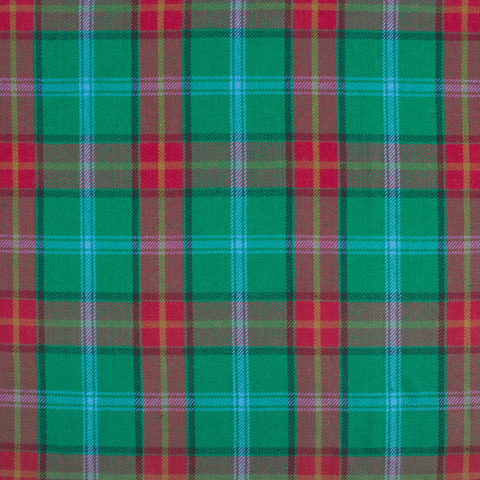 LONDON brushed plaid - Manitoba - Green / Red / Blue