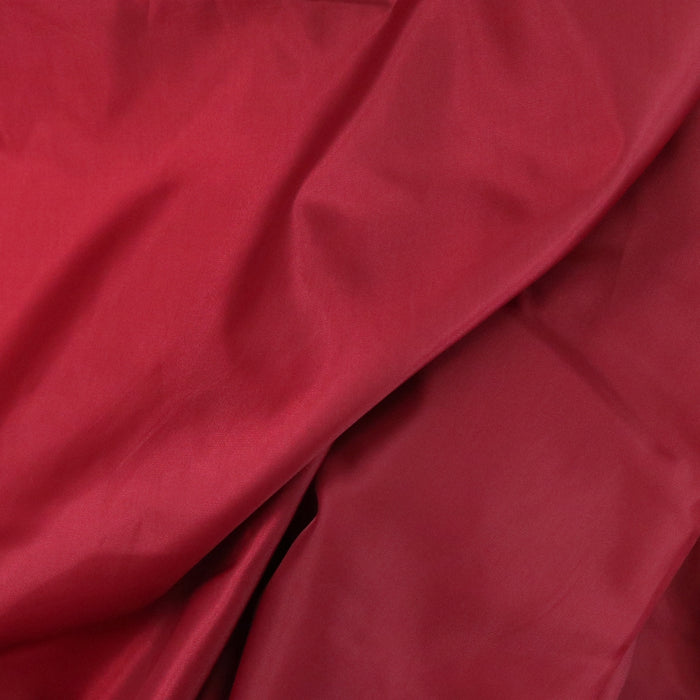 Polyester Lining - New Dark Red