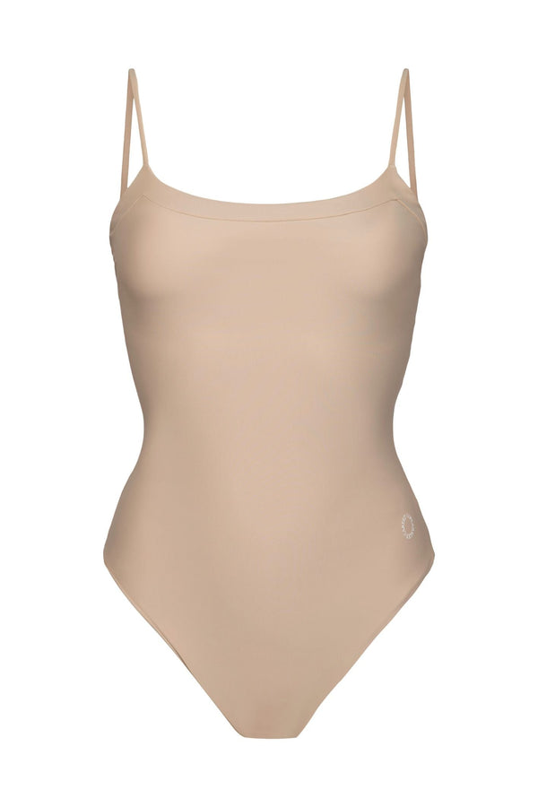 Penida one-piece Scoop-neckline - Sand