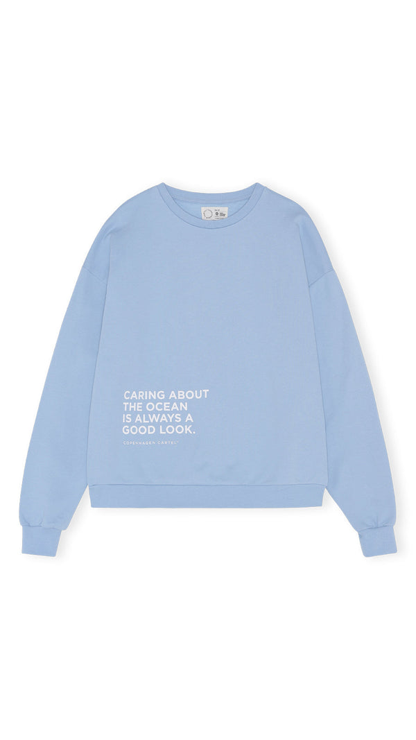 Unisex Earth sweatshirt - Sky