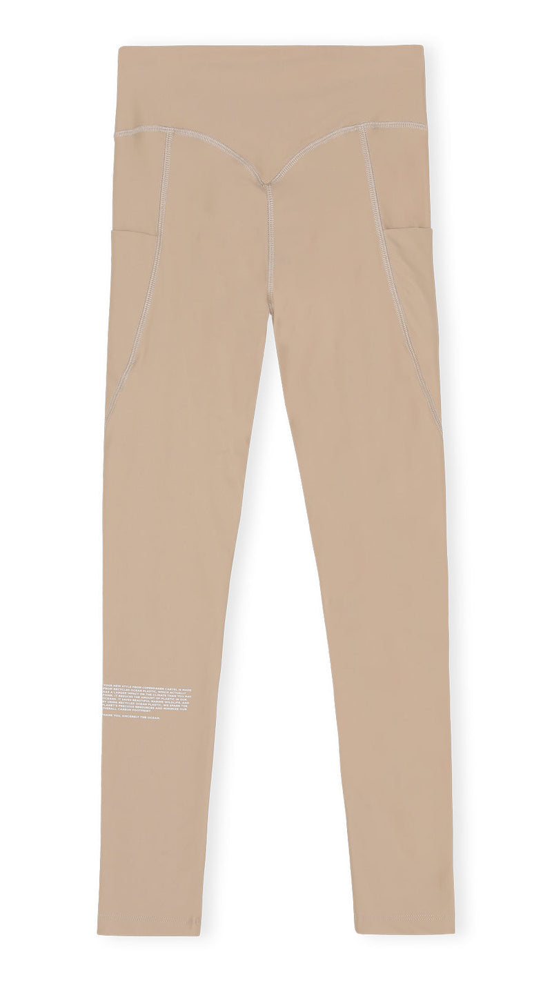 Power high-rise leggings - Sand