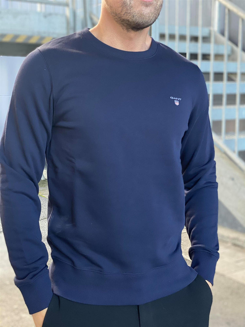 Original C-neck Sweat Evening Blue