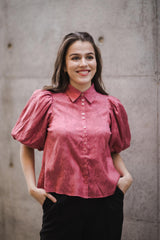 Jacquard Shirt Rose