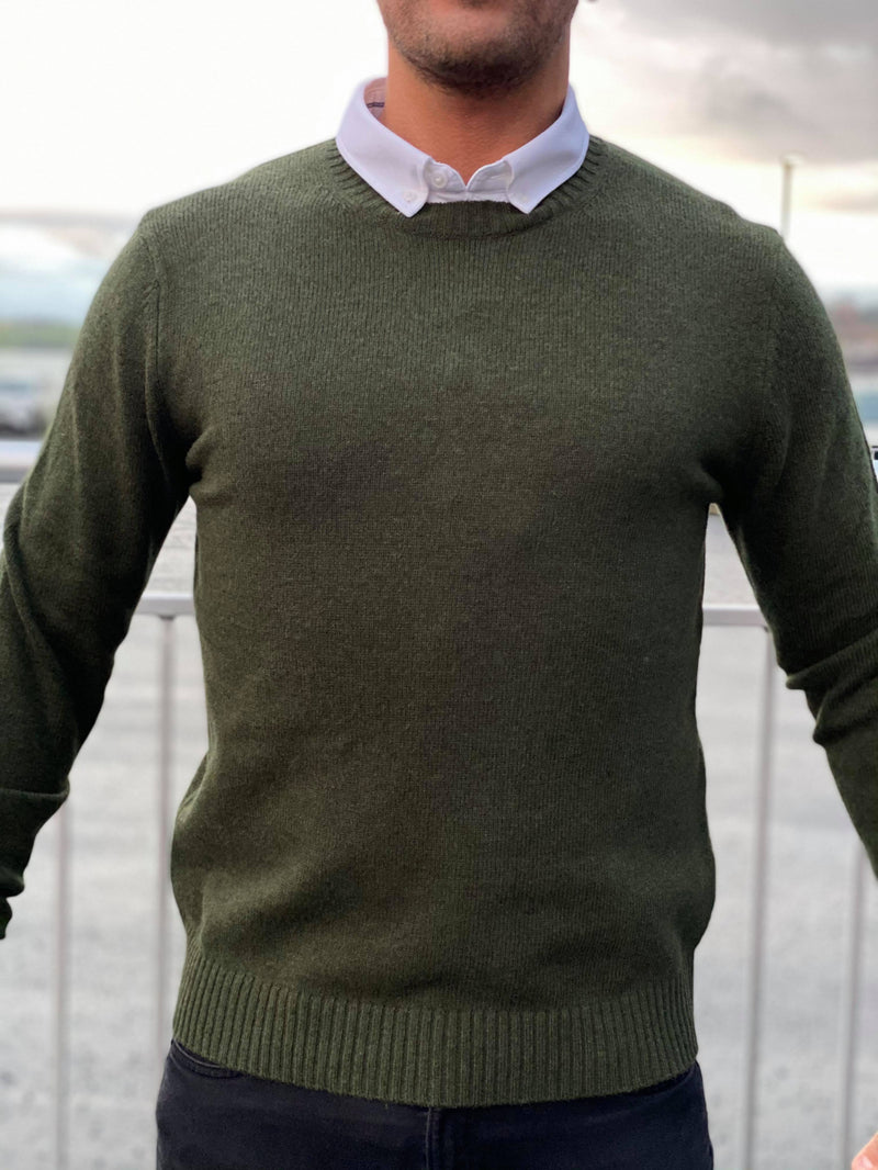 Sylli Crew Neck Kambu Green
