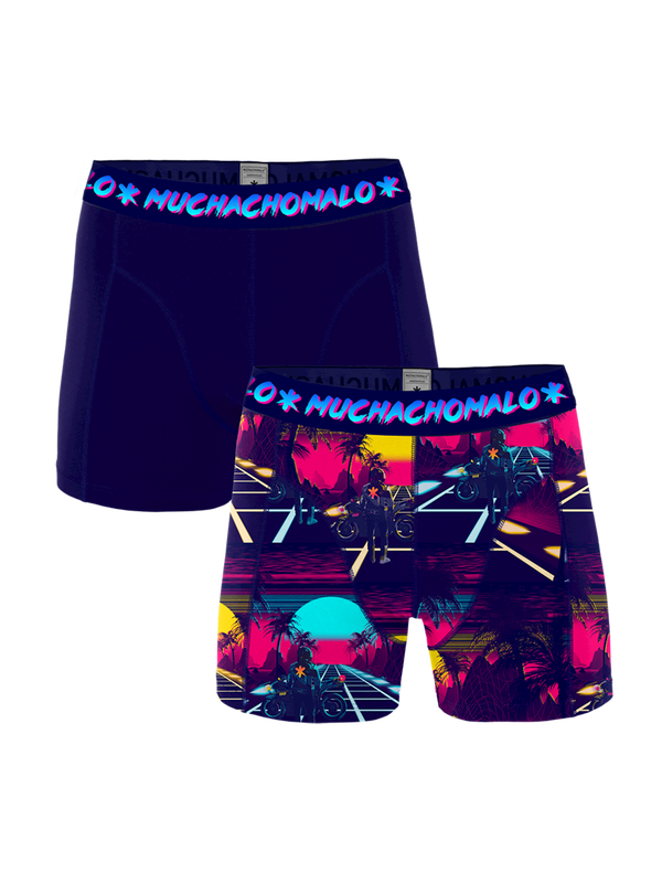Retro Wave 2-pk Boxer Print