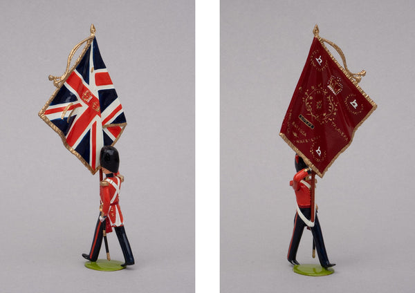 Set 67 Coldstream Guards 1854, Colour Party | British Infantry | Crimean War | The colours | Balaclava, Sevastapol, Alma | © Imperial Productions | Sculpt by David Cowe