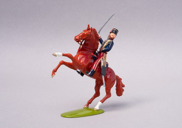 Set 89 Lord Cardigan 1854 | British Cavalry | Crimean War | Officer on horseback | Balaclava, Sevastapol, Alma, Charge of the Light Brigade | © Imperial Productions | Sculpt by David Cowe
