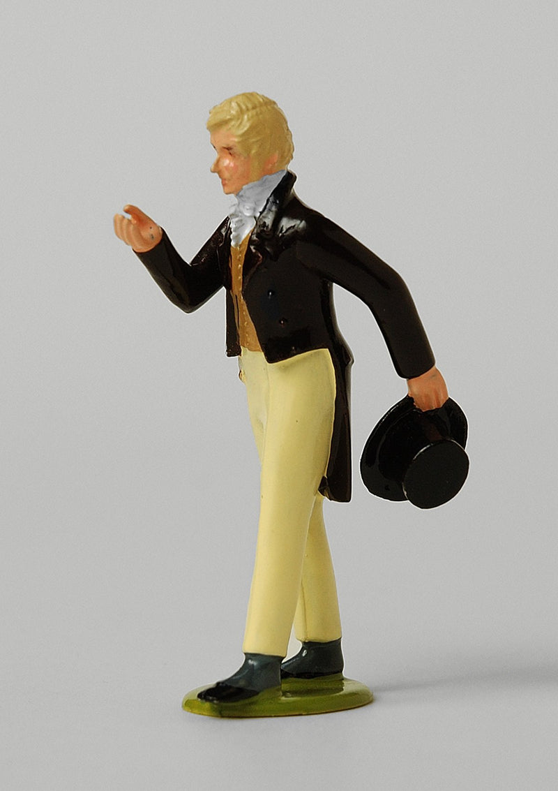 Set ES06 Salutations | Regency Gentleman | First Empire Civilians | © Imperial Productions | Sculpt by David Cowe