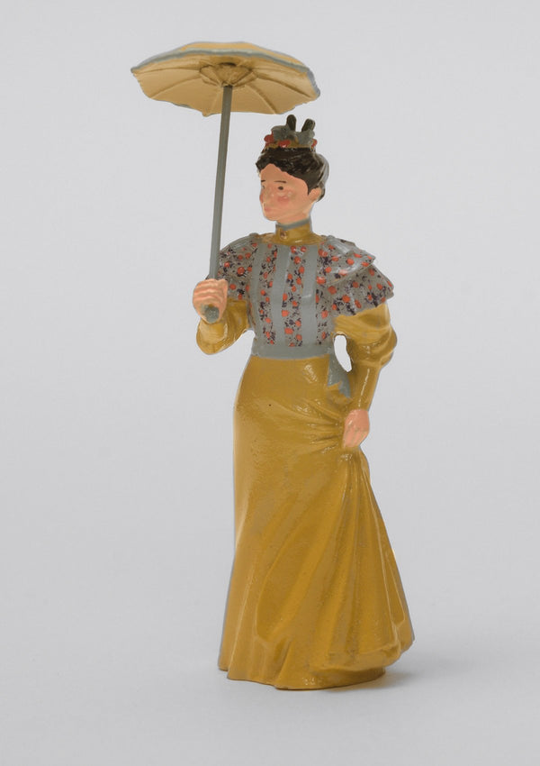 Set 11 Lady with open parasol | Victorian Lady | Town and Around | © Imperial Productions | Sculpt by David Cowe