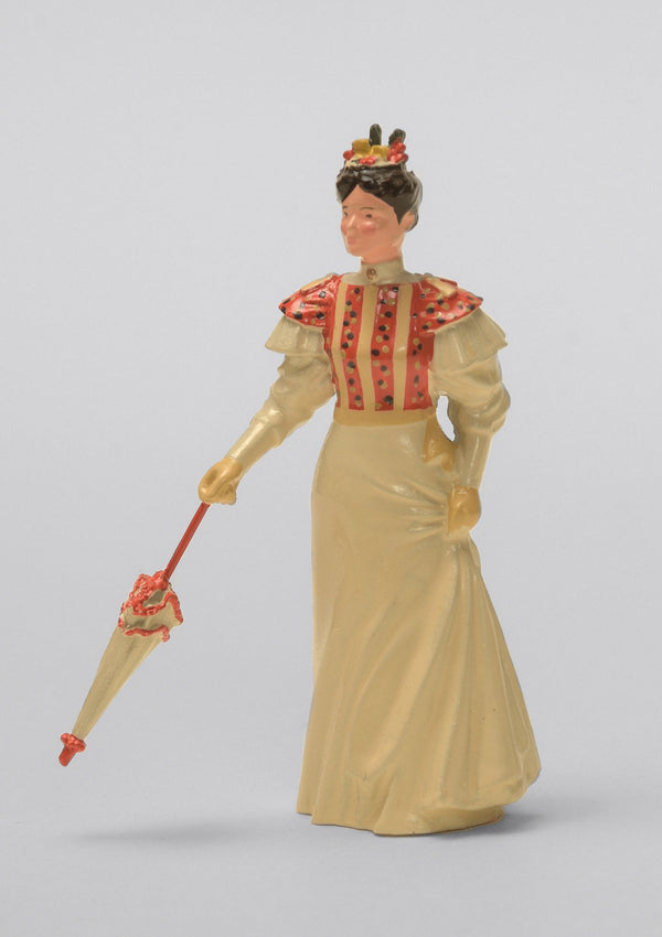 Set 12 Lady with closed parasol | Victorian Lady | Town and Around | © Imperial Productions | Sculpt by David Cowe