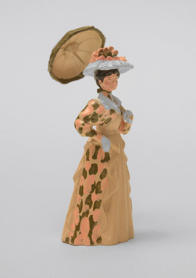 Set 17 Lady with open parasol | Victorian Lady | Town and Around | © Imperial Productions | Sculpt by David Cowe