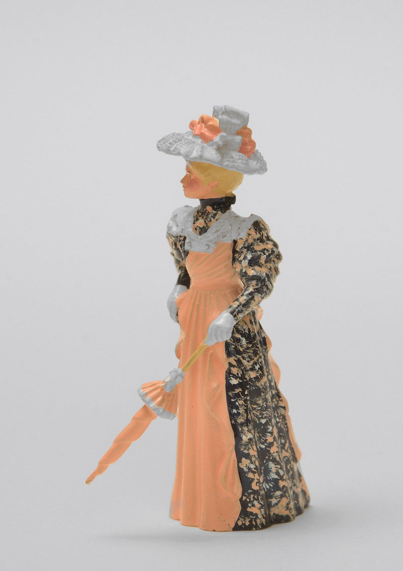 Set 18 Lady with closed parasol | Victorian Lady | Town and Around | © Imperial Productions | Sculpt by David Cowe