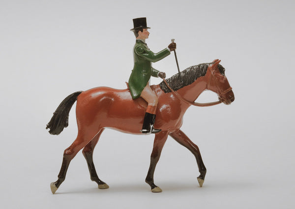 Set 19 Gentleman Riding | Victorian Gentleman and Animals | Town and Around | © Imperial Productions | Sculpt by David Cowe