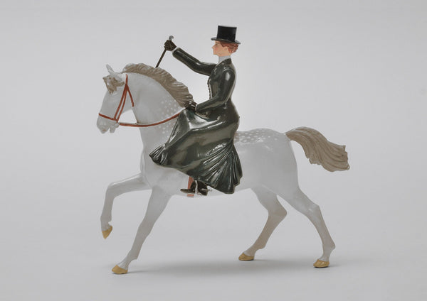Set 20 Lady Riding | Victorian Lady and Animals | Town and Around | © Imperial Productions | Sculpt by David Cowe