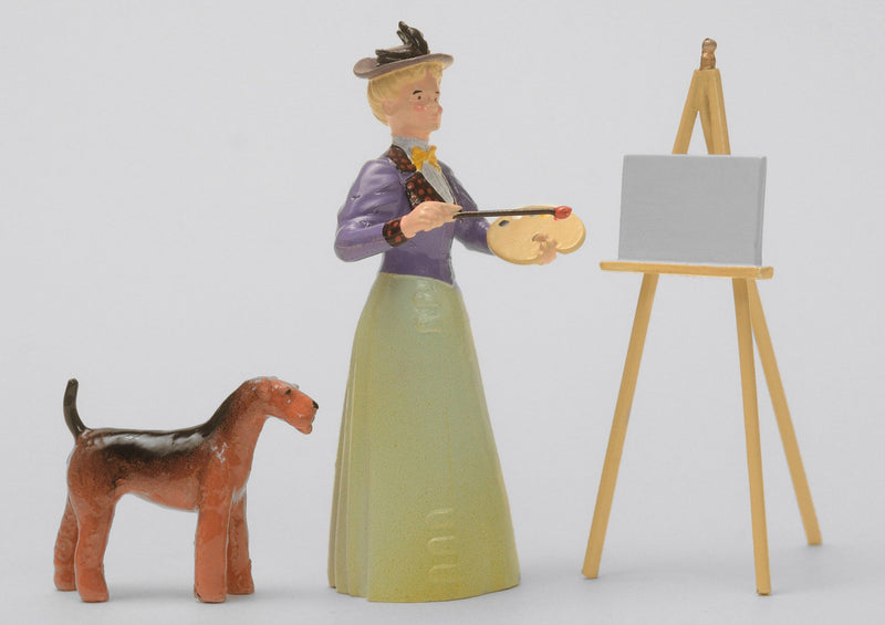 Set 26 Artist & Companion | Victorian Lady and Animals | Town and Around | © Imperial Productions | Sculpt by David Cowe