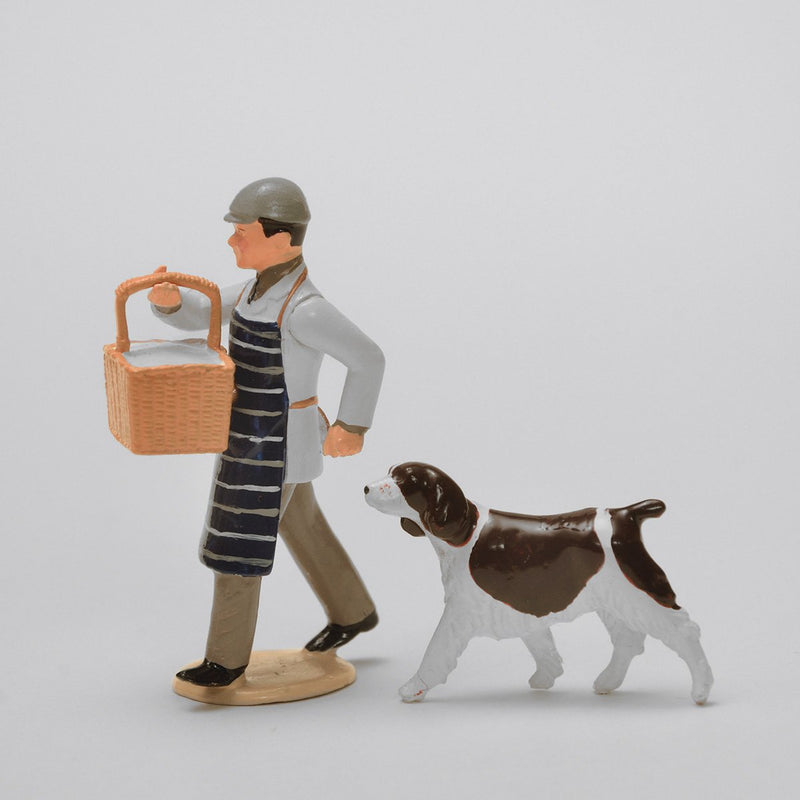 Set 39 Butchers Boy | Victorian Man and Animals | Town and Around | © Imperial Productions | Sculpt by David Cowe