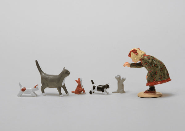 Set 49 The Family Outing | Victorian Children and Animals | Town and Around | © Imperial Productions | Sculpt by David Cowe