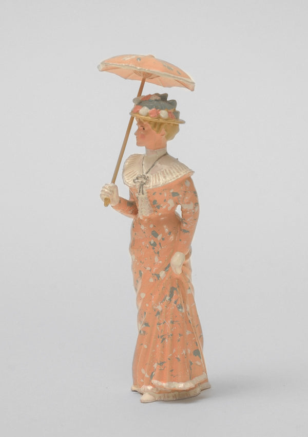 Set 05 Lady with open parasol | Victorian Lady | Town and Around | © Imperial Productions | Sculpt by David Cowe