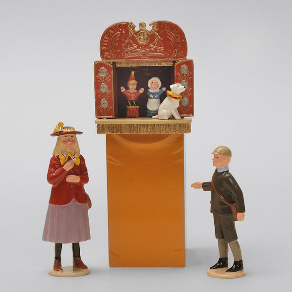 Set 55 Punch and Judy | Victorian Children | Town and Around | © Imperial Productions | Sculpt by David Cowe
