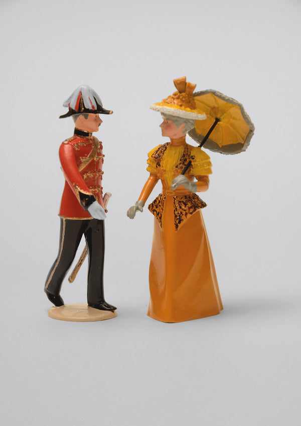Set 56 Officer and Lady | Victorian Couple | Town and Around | © Imperial Productions | Sculpt by David Cowe