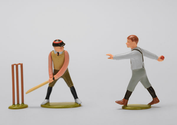 Set 57 Cricket | Victorian Children and Sport | Town and Around | © Imperial Productions | Sculpt by David Cowe