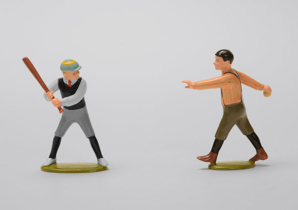 Set 58 Batter up | Victorian Children and Sport | Town and Around | © Imperial Productions | Sculpt by David Cowe