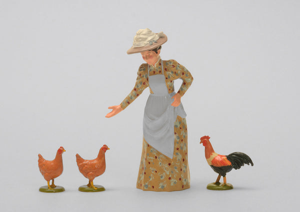 Set 66 Feathered Friends | Victorian Lady and Animals | Town and Around | © Imperial Productions | Sculpt by David Cowe