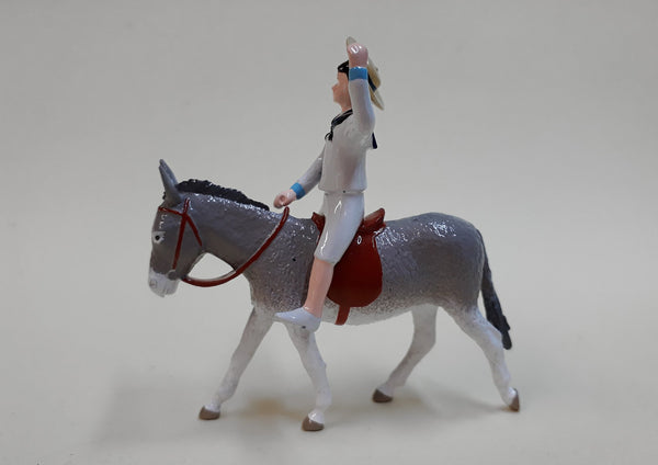 Set TA69 Boy on Donkey | Victorian Children and Animals | Town and Around | © Imperial Productions | Sculpt by David Cowe