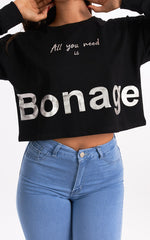 HOLY UNIQUE BONAGE SWEATER