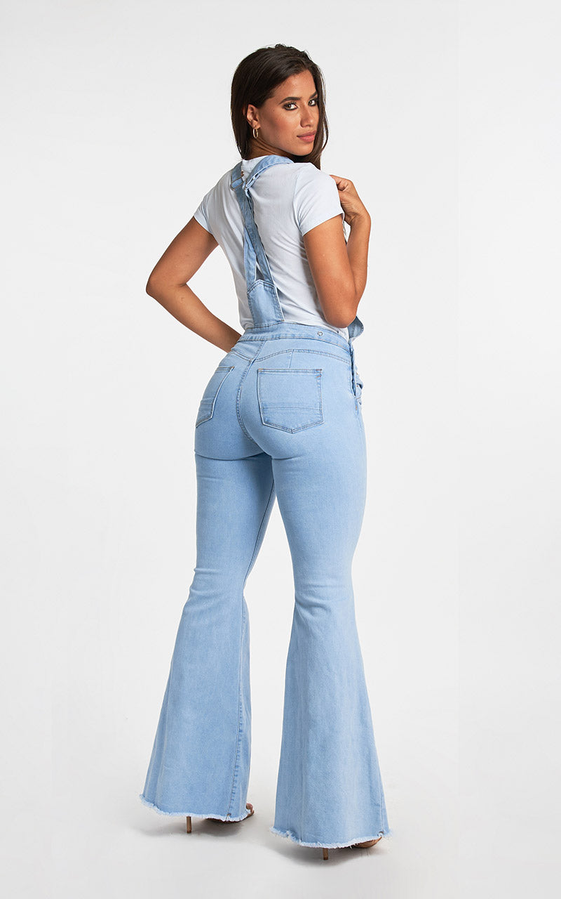OVERALL FLARE JEANS