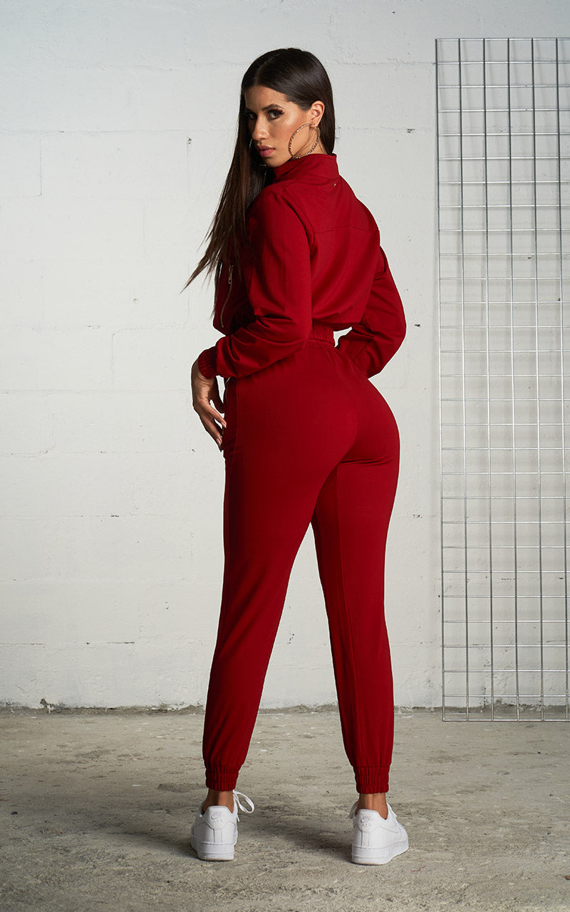 SPORTY CHIC RED SET