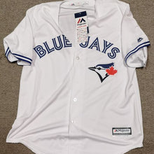 Load image into Gallery viewer, Autographed Aaron Sanchez Toronto Blue Jays Majestic Jersey Size Large with COA
