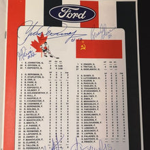 Load image into Gallery viewer, Autographed 1972 Summit Series Program With LOA
