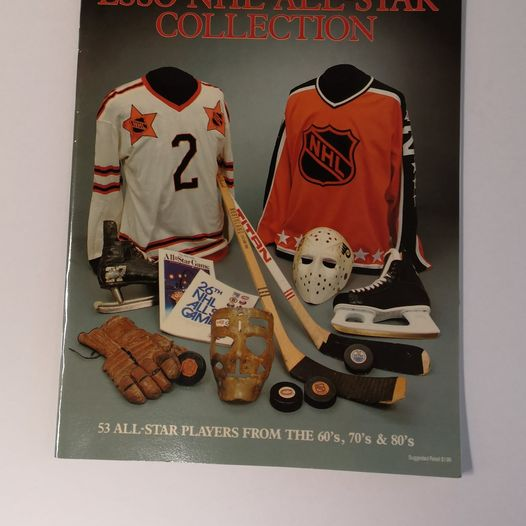1998 Esso NHL All-Star Hockey Book With Full Set Of Stickers