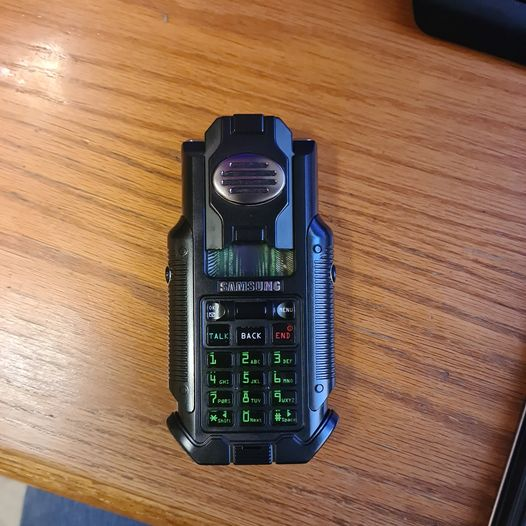 The Matrix Reloaded prop cell phone