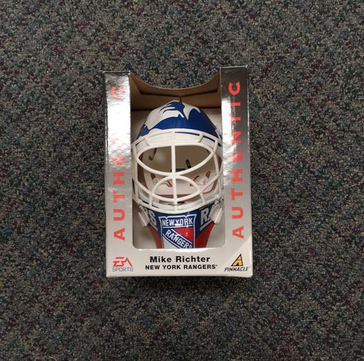 EA Sports Mike Richter New York Rangers Mini Goalie Mask