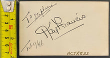 Load image into Gallery viewer, Kay Francis Vintage Rare Celebrity Actress Autograph c.1946