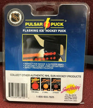 Load image into Gallery viewer, 1990's NHL on Fox Pulsar Puck New Old Stock in Package USA Hockey Novelty Item