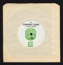 Load image into Gallery viewer, 1974 CANADA / USSR Team Canada Russia 45 RPM Record Rare Vtg Hockey Series WHA