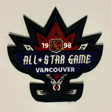 Load image into Gallery viewer, 1998 NHL All Star Game Jersey Patch Vancouver Canada Hockey Unused Vintage