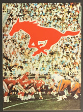 Load image into Gallery viewer, 1968 Calgary Stampeders CFL Football Media Guide Yearbook Stamp Album + Mailer
